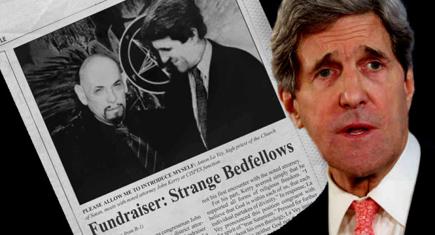 John Kerry and the Church of Satan's Hoax
